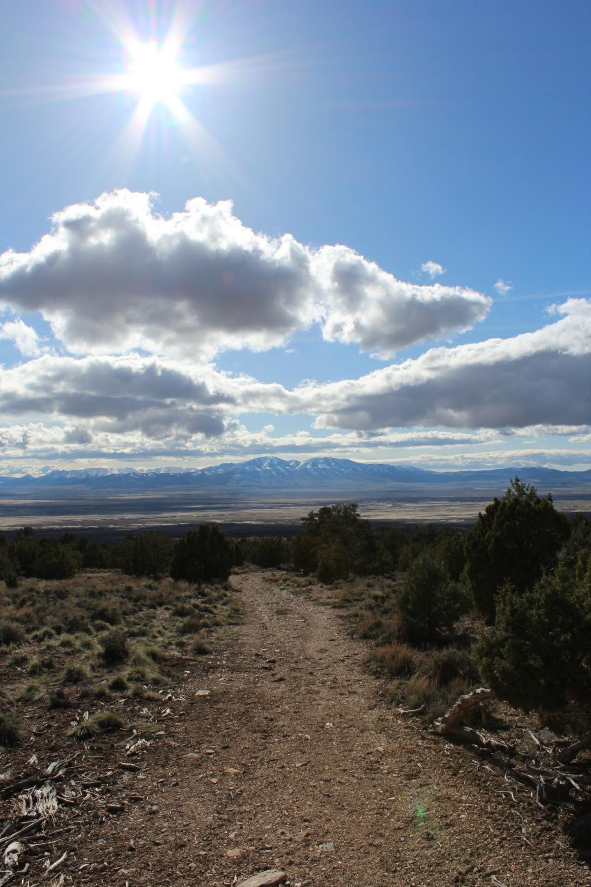 Trail to Mercur