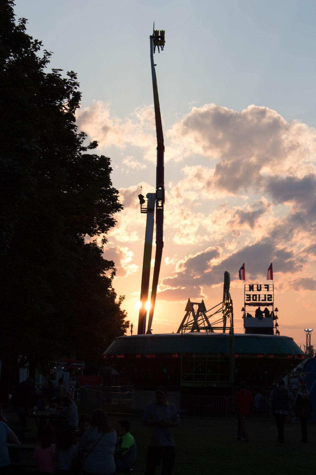 Sunset at State Fair (PartTwo)